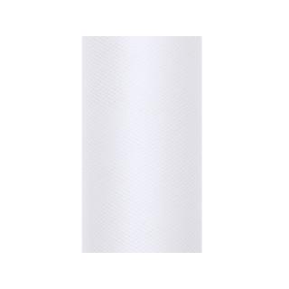 Tulle blanc 50 cm en rouleau x 9 m
