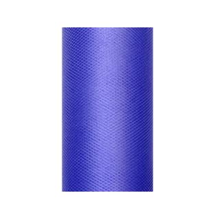 Tulle bleu marine 50 cm en rouleau x 9 m