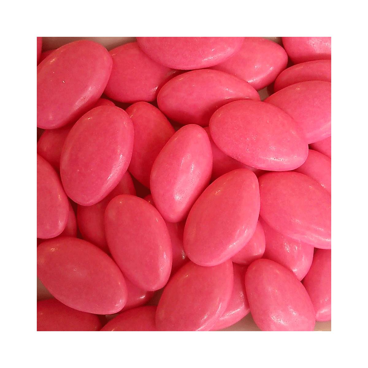 1kg Dragées Pecou Avola Extra - Fuchsia