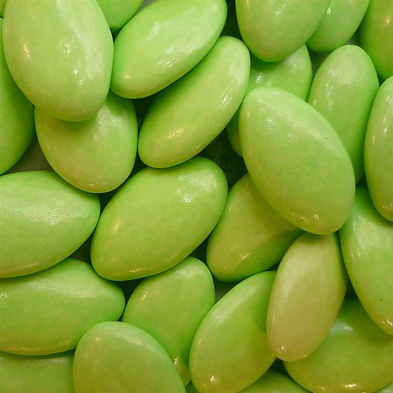 1kg Dragées Pecou avola extra - Vert anis