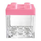 Boites Dragées Lego - Rose