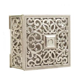 Contenant Dragées boites arabesques carrées