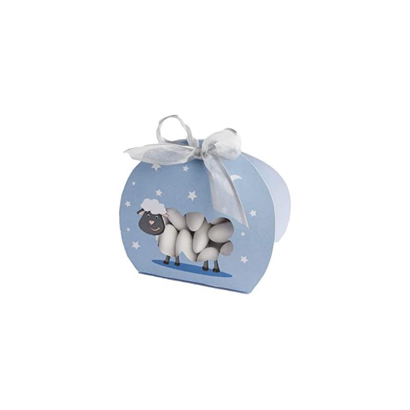 Grande Boite Mouton Bleu