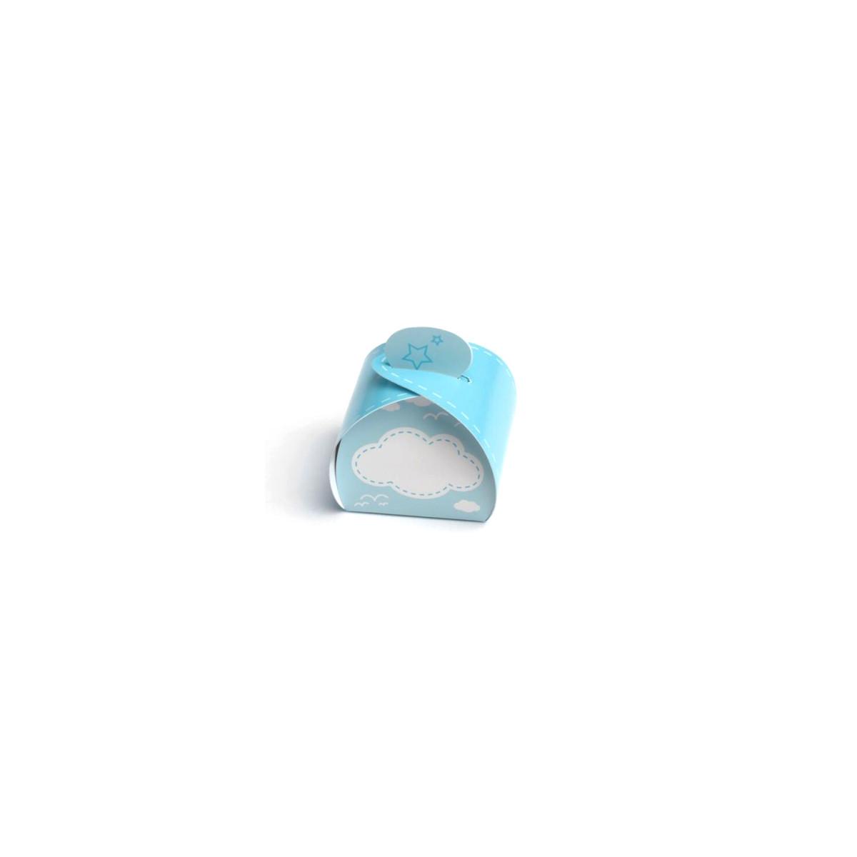 Boite Dragées Nuage Bleu