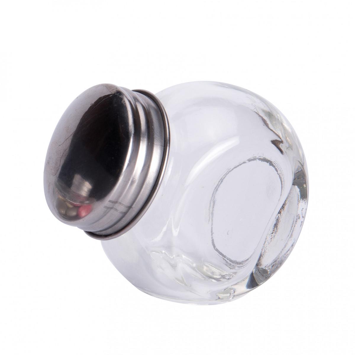 Pot en verre dragées couvercle métal