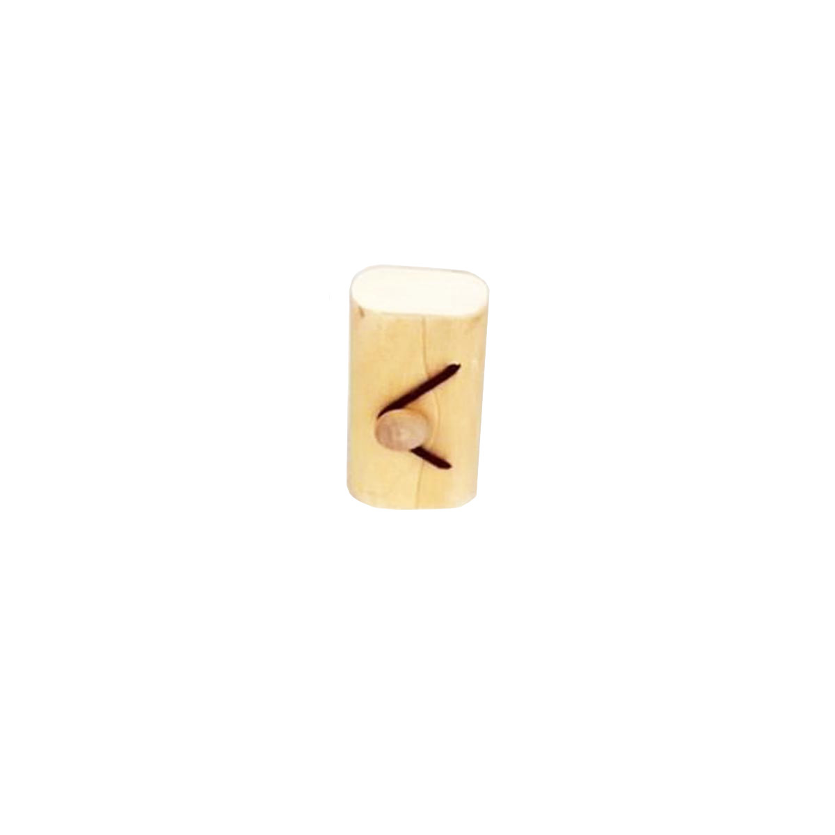 Boite Dragées Bois Fermoir Elastique x1