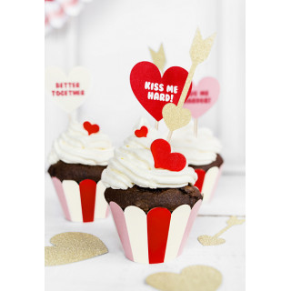 habillage cupcakes sweet love