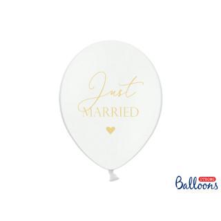 Ballons baudruche blanc mariage