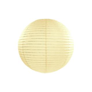 Lanterne papier crème 20 cm