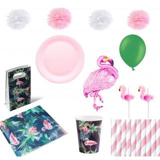 pack anniversaire flamant rose