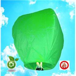 Lanterne Volante Biodégradable - Vert