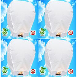 Lanterne Volante x 50 - Couleur au choix
