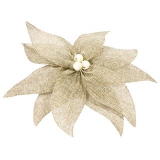 Noeud en forme de fleur toile