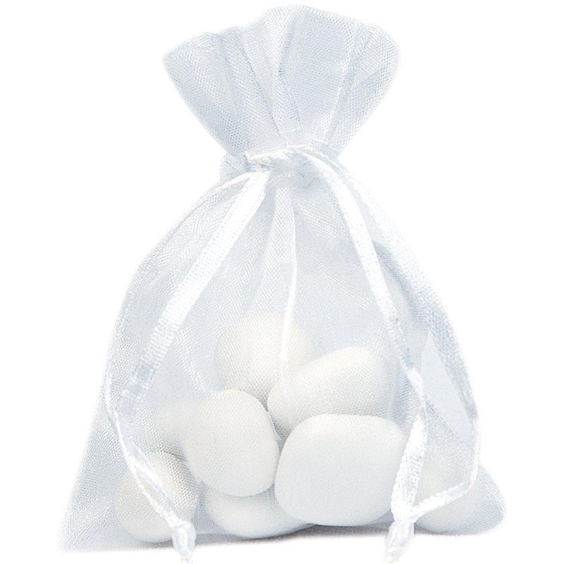 Sachet Dragées Blanc x10
