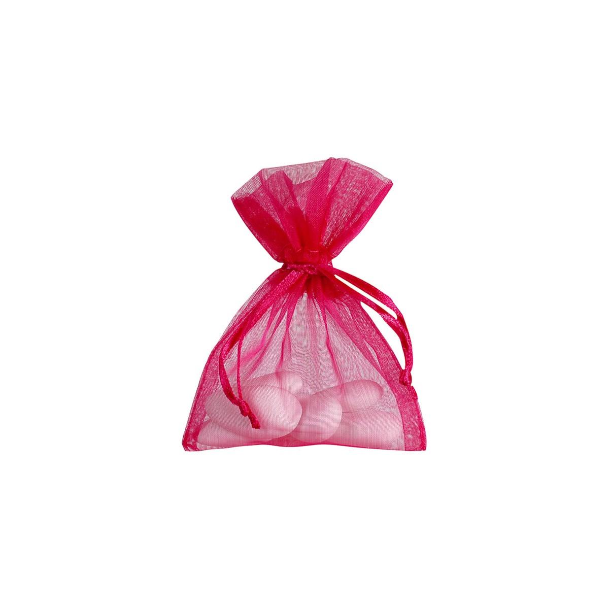 Sachet Dragées Fuchsia x10