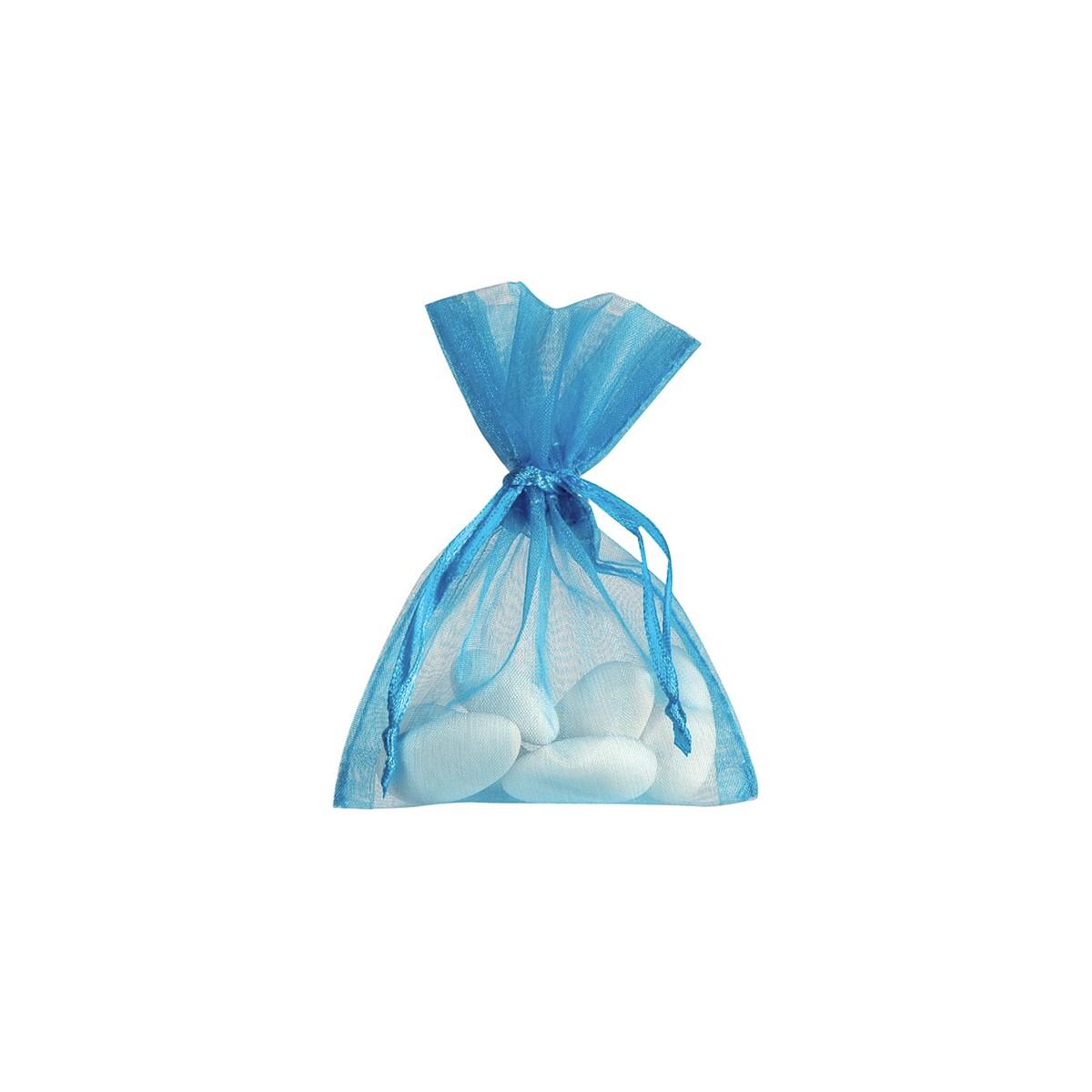 Sachet Dragées Turquoise x10