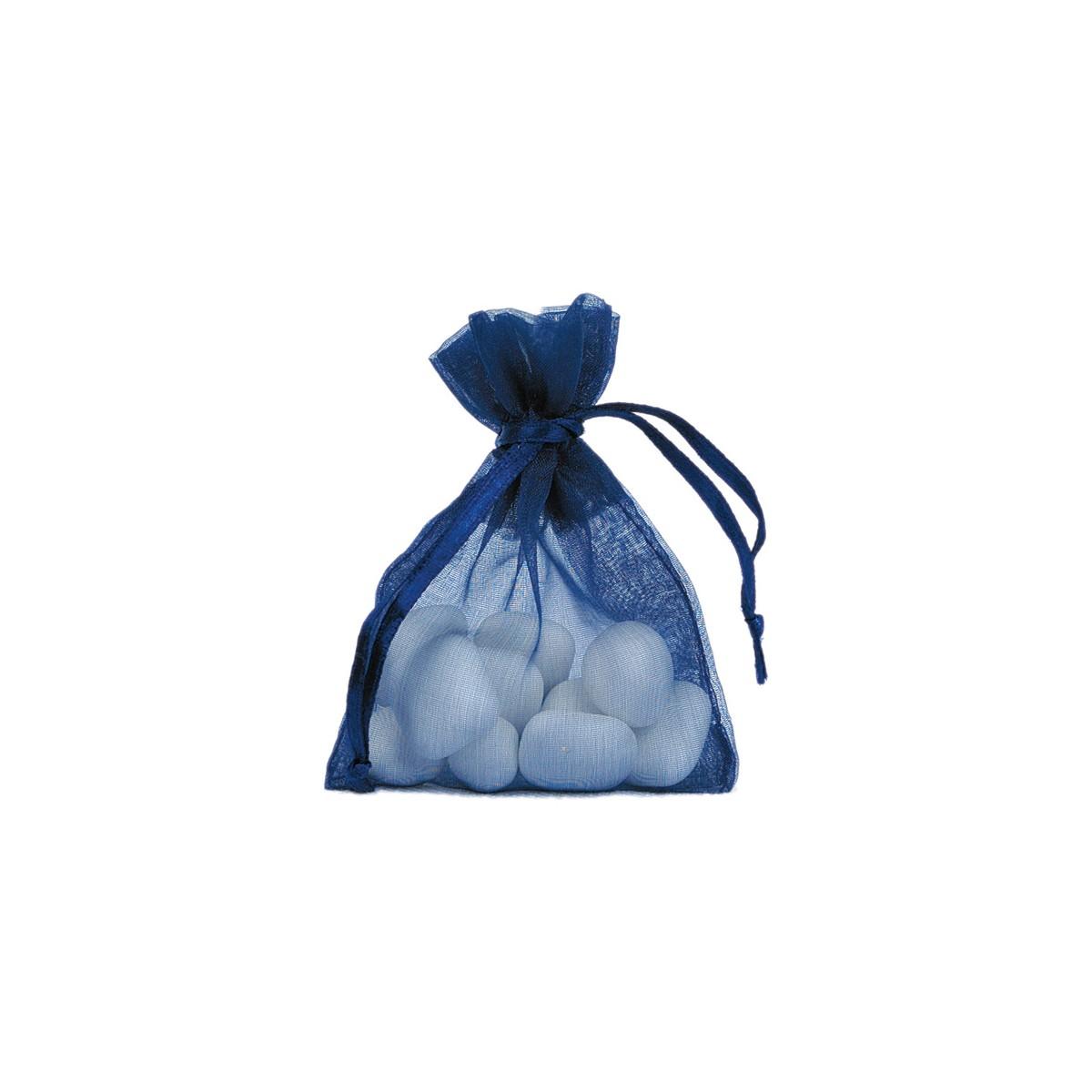 Sachet Dragées Bleu Marine x10