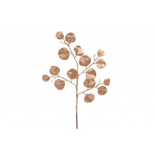 Feuillage d'eucalyptus pailletée rose gold