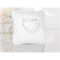 Coussin Alliance Rose Blanche