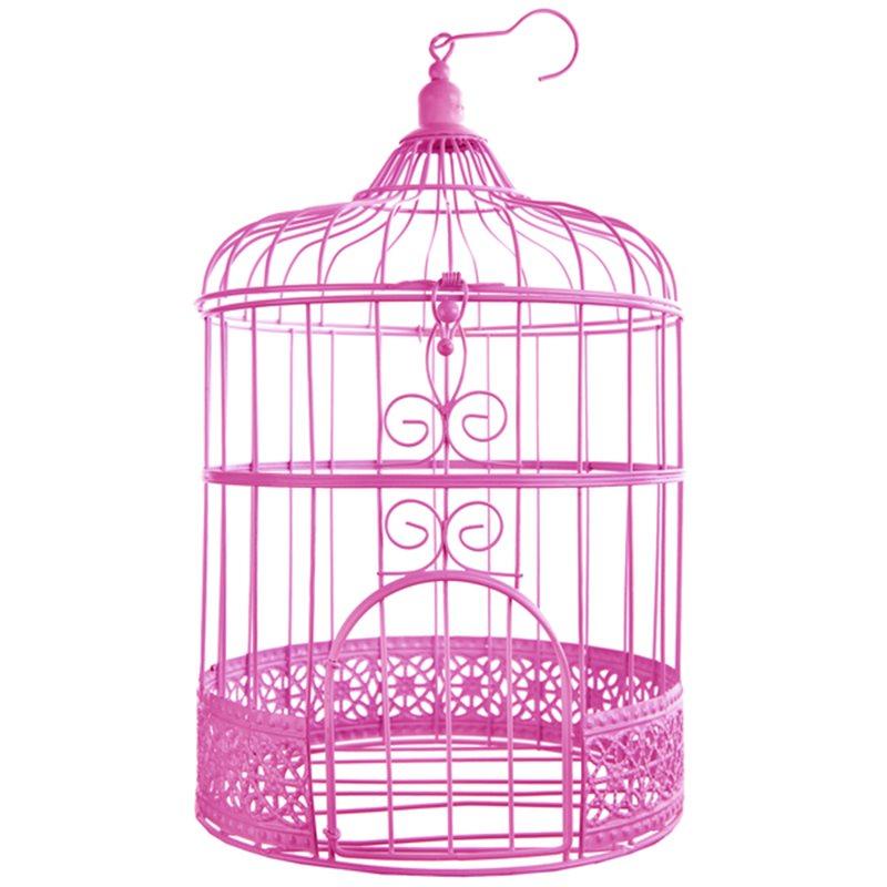 Cage oiseau Deco Fuchsia 84c0667f915e