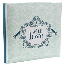 Livre d'Or Mariage With Love Vert