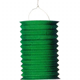 Lampion accordéon vert