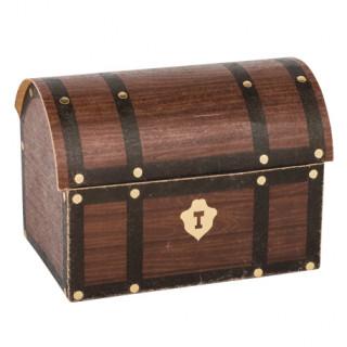Contenant coffre au trésor pirate x8 - 8x5.5x6cm