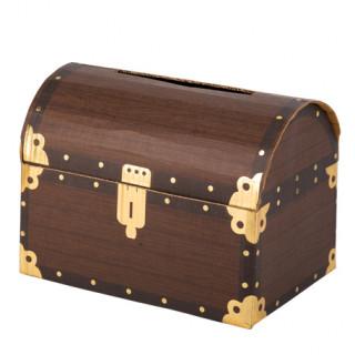 Urne coffre au trésor pirate 25x17.5x18.5cm