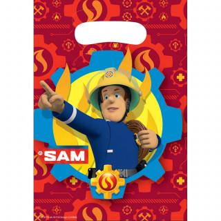 sac surprise Sam le Pompier 24 x 16 cm x8