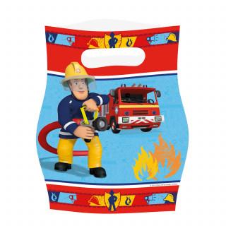 sac surprise Sam le Pompier x8