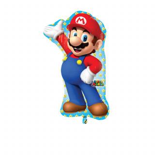 Ballon à l'hélium Super Mario 55 x 83 cm