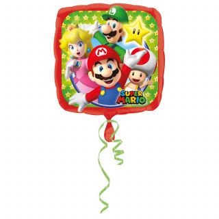 Ballon à l'hélium Super Mario 43 cm
