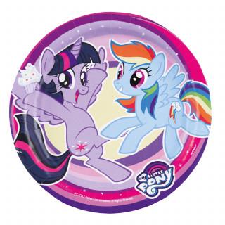 assiettes My Little Pony 17,7 cm