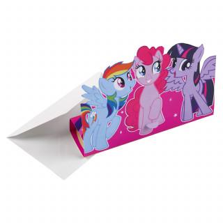 invitation et enveloppe My Little Pony
