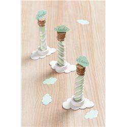 50 Confettis Nuage Vert Menthe