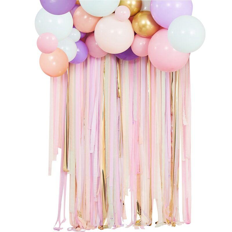 Kit Rideau et ballon pastel