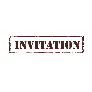 "Tampon ""Invitation"""