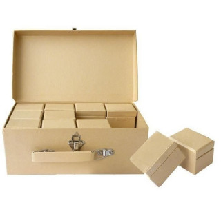 Malette de 24 boites en carton