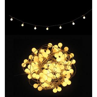 Guirlande lumineuse 80 ampoules de 11m