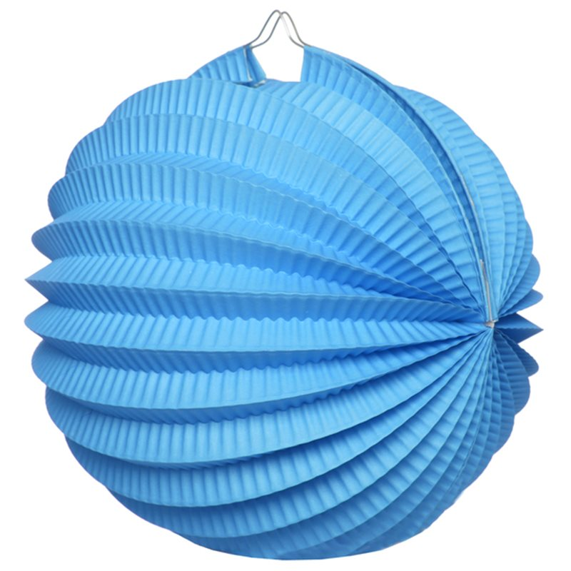 Boule Accordeon Bleu