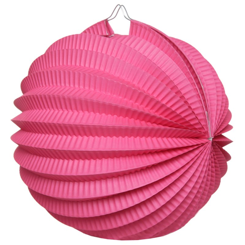 Boule Accordéon Fuchsia