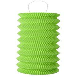 Lampion accordeon Vert
