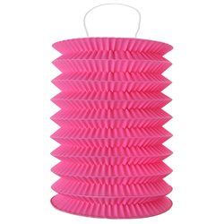 Lampion Accordeon Fuchsia x2
