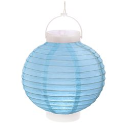 Lampion Led Bleu