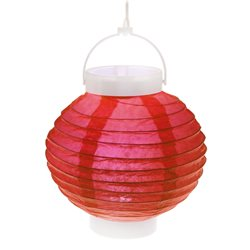 Lampion Led Rouge