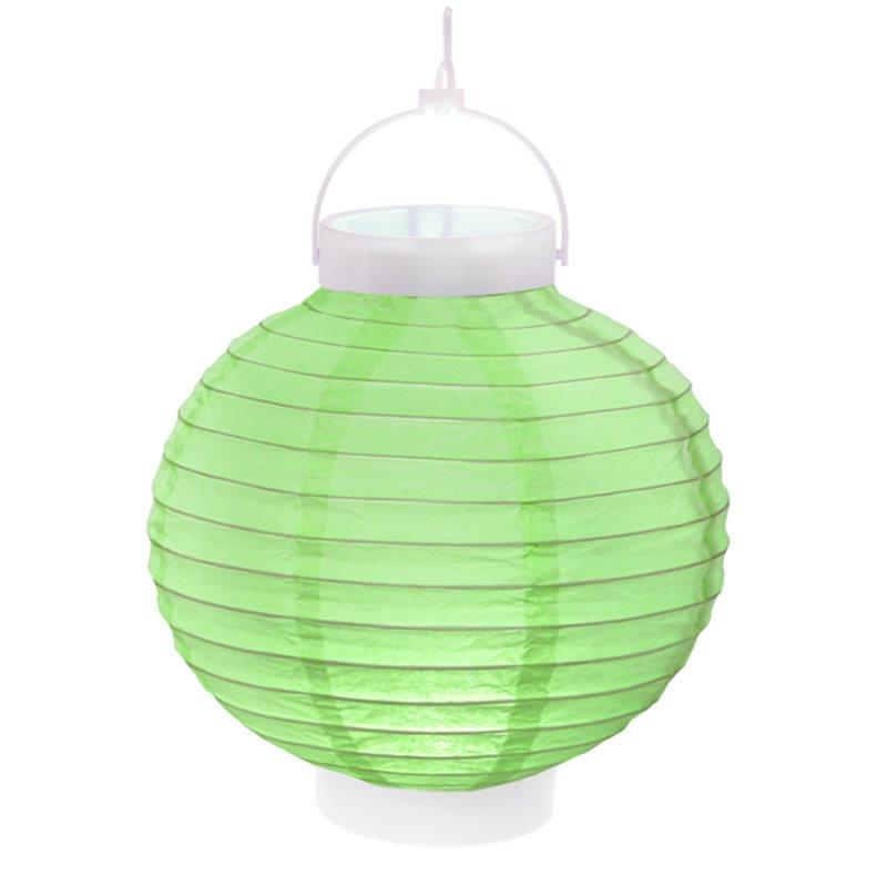 Lampion led Vert