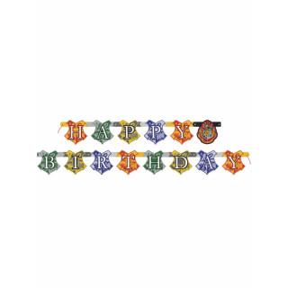 Guirlande Bannière anniversaire Harry Potter