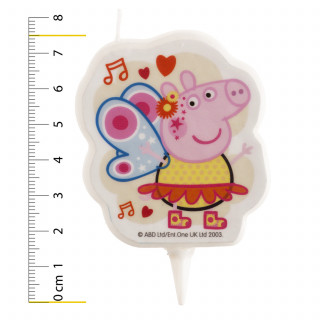 Bougie Peppa Pig 7.5 cm