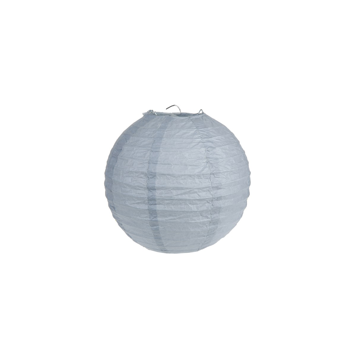 2x Lanterne Papier 20cm - Gris