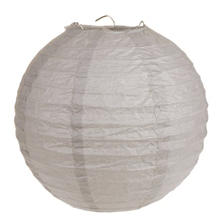 2x Lanterne Papier 30cm - Taupe